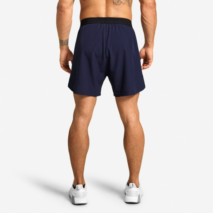Спортивные шорты Better Bodies Essex Stripe Shorts, Dark Navy