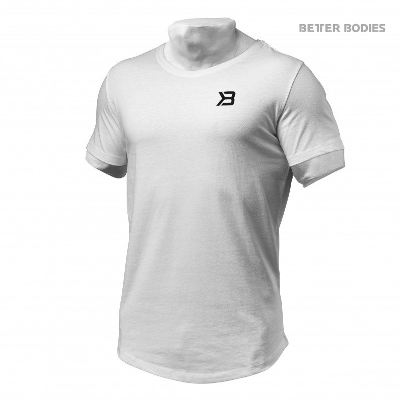 Футболка Better Bodies Hudson Tee, White