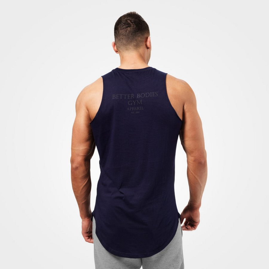Спортивная майка Better Bodies Harlem Tank, Dark navy