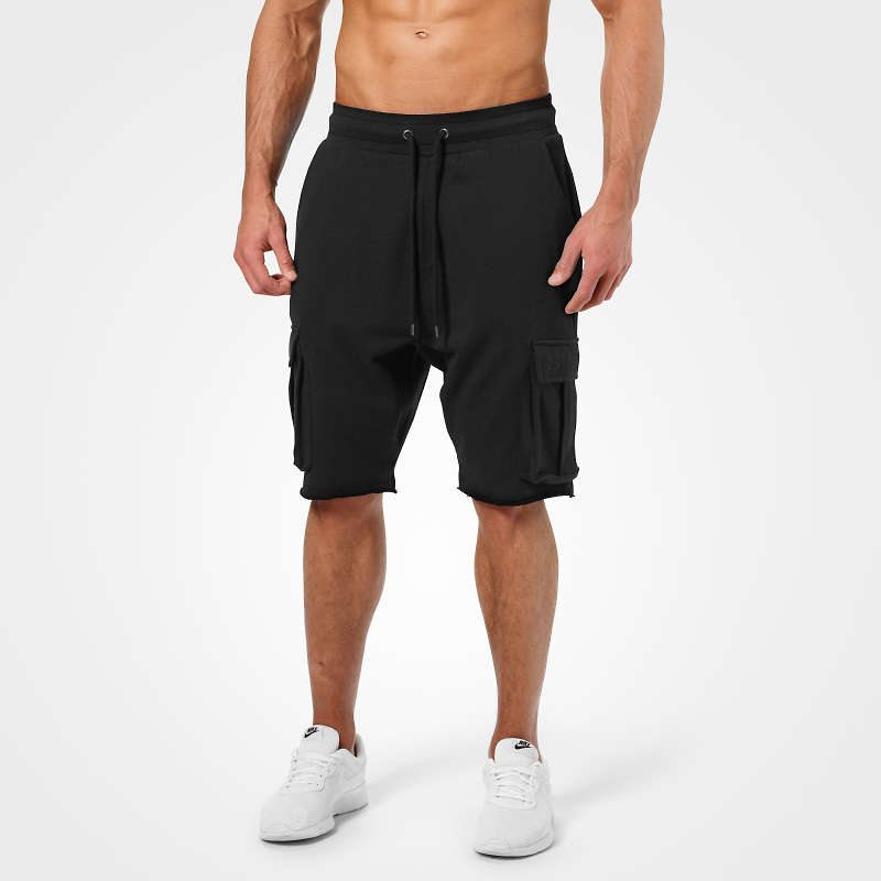 Шорты Better Bodies Bronx cargo shorts, Wash black