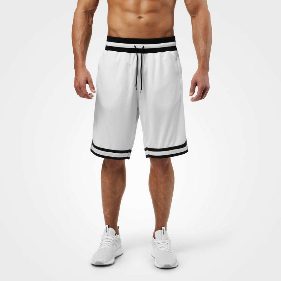 Шорты Better Bodies Harlem shorts, White