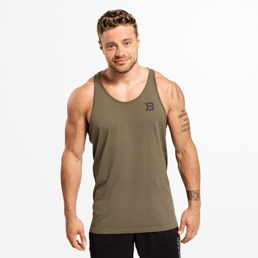 Майка Better Bodies Hamilton tank, Washed Green