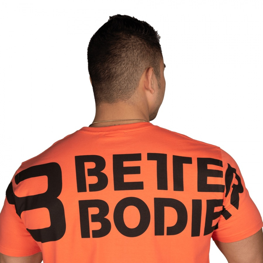 Футболка Better Bodies Stanton Oversize Tee, Coral Orange