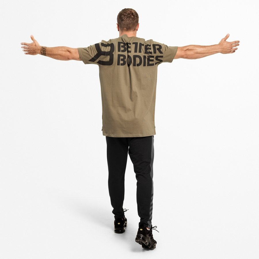 Футболка Better Bodies Stanton Oversize Tee, Washed Green
