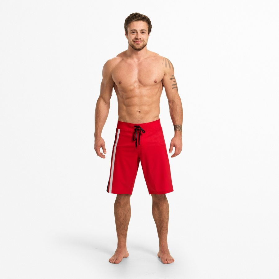 Спортивные шорты Better Bodies Ript Shorts, Bright Red