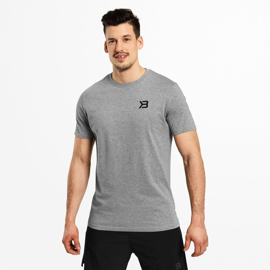 Футболка Better Bodies Essential Tee, Greymelange