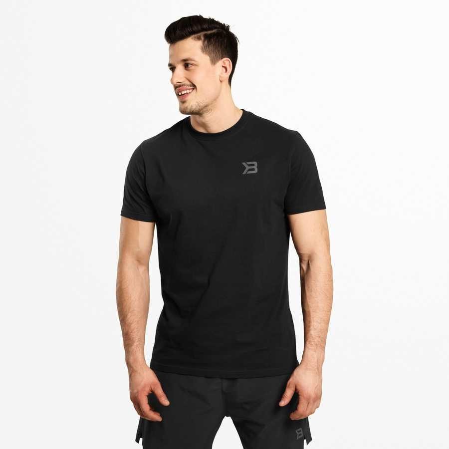 Футболка Better Bodies Essential Tee, Wash Black