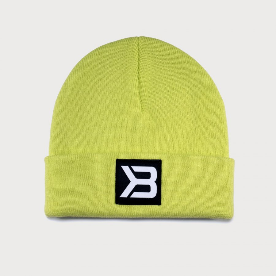 Шапка Better Bodies Tribeca Beanie, Neon Yellow