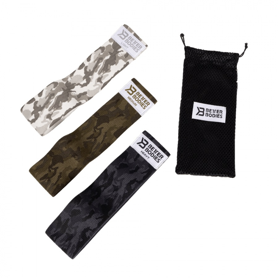 Эспандеры Better Bodies Glute Force 3-pack, Camo Combo