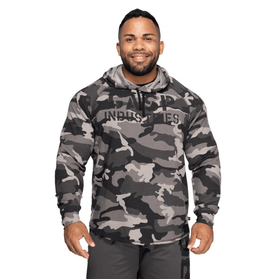 Кофта с капюшоном GASP Long Sleeve Thermal Hoodie, Tactical Camo