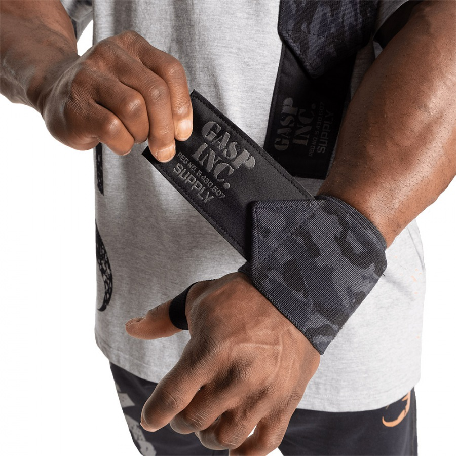 "Напульсники GASP Heavy Duty Wrist wraps 24"", Dark Camo"