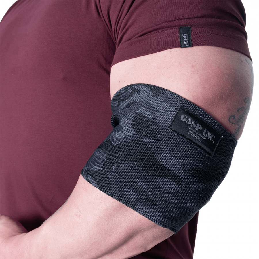 Налокотники GASP Heavy Duty Elbow Sleeve, Dark Camo
